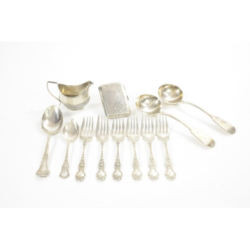 532 - A PAIR OF WILLIAM IV SILVER SAUCE LADLES  Fiddle pattern,  by John, Henry and Charles Lias, London 1...