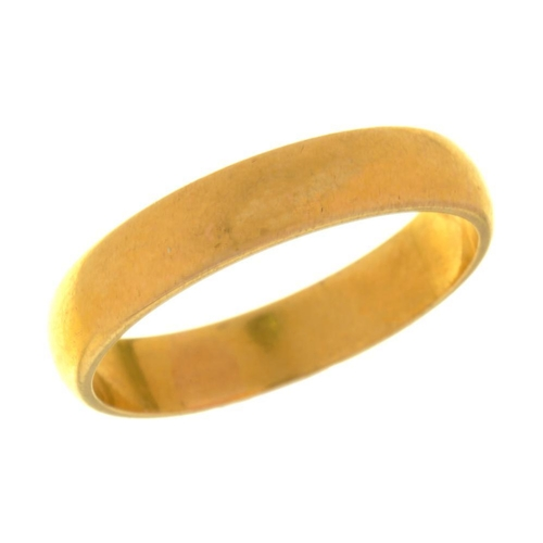 1 - <p>A 22CT GOLD WEDDING RING, BIRMINGHAM 1959, 5.1g, SIZE Q�</p><p></p>...