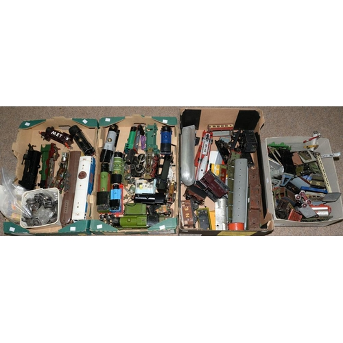 485 - <p>MISCELLANEOUS INCOMPLETE O-GAUGE RAILWAY LOCOMOTIVES, ROLLING STOCK AND ACCESSORIES </p>...