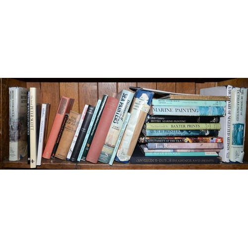 513 - <p>ONE SHELF OF MISCELLANEOUS BOOKS, ART REFERENCE</p>...
