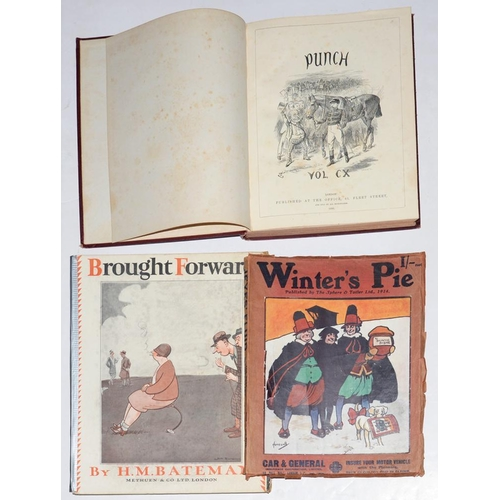 516 - <p>BATEMAN (H. M.), BROUGHT FORWARD, 1931, WINTER'S PIE PUBLISHED BY THE SPHERE AND TATLER LIMITED 1...