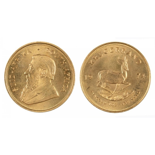 14A - <p>GOLD COIN.   SOUTH AFRICA KRUGERRAND</p>...