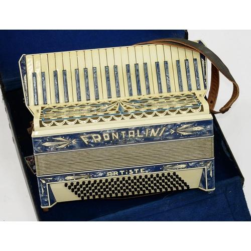 425 - <p>A FRONTALINI ARTISTE PIANO ACCORDION, CASED</p>...