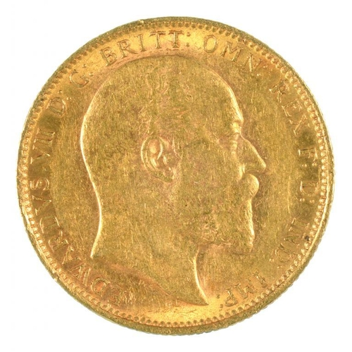 114 - <p>GOLD COIN. SOVEREIGN 1905M</p>...
