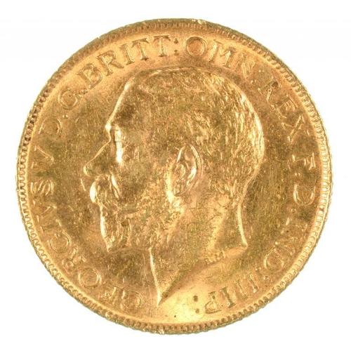 119 - <p>GOLD COIN. SOVEREIGN 1911</p>...