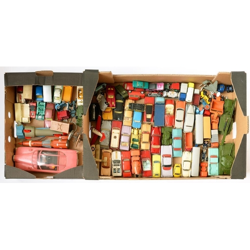 379 - <p>A COLLECTION OF DIE-CAST DINKY TOYS, CORGI TOYS, MATCHBOX AND OTHERS, MAINLY 1960'S AND 70'S</p>...
