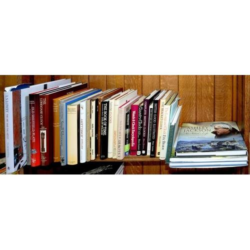 472 - <p>CROSSKEY, (GORDAN), OLD SHEFFIELD PLATE, SECOND EDITION 2011, TOM ROBINSON, THE LONGCASE CLOCK 19...