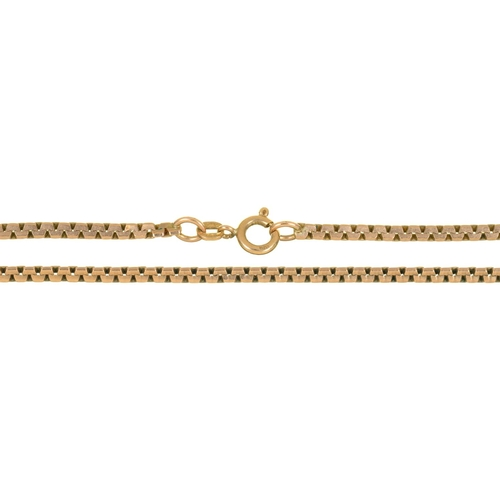 51 - A 9CT GOLD CHAIN, 11G...