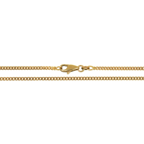 54 - A 9CT GOLD CHAIN, 7G...