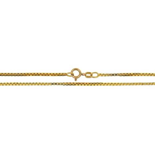 56 - A 9CT GOLD CHAIN, 6G...
