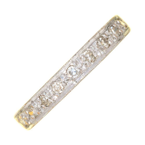 55 - <p>A DIAMOND RING IN 18CT GOLD, 3G, SIZE N</p><p></p>...