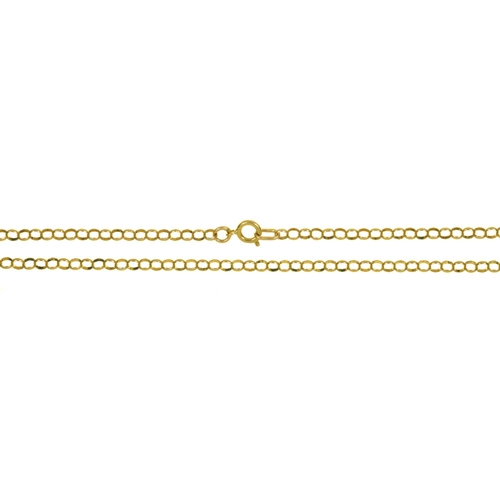 7 - A 9CT GOLD CHAIN, 6G ...