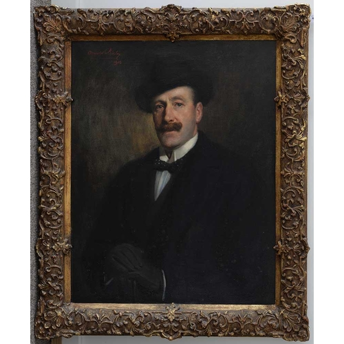 423 - <strong>SIR OSWALD HORNBY JOSEPH BIRLEY, RA (1880-1952) PORTRAIT OF THE ARTIST'S FATHER  </strong>ha...