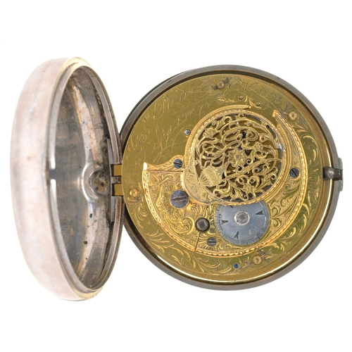 62 - <strong>AN ENGLISH TRIPLE CASED VERGE WATCH FOR THE TURKISH MARKET GEORGE PRIOR </strong> <strong>LO...