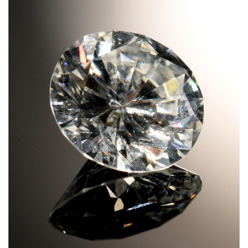 14 - <strong>AN UNMOUNTED DIAMOND </strong> of approx 1.05ct, subject to vat on hammer price...
