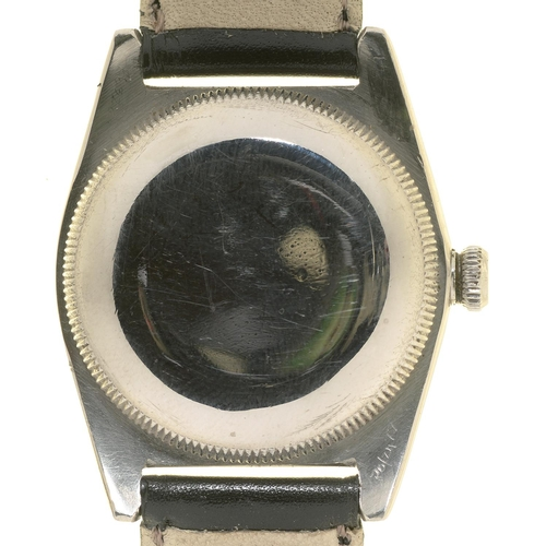 58 - <strong>A ROLEX STAINLESS STEEL WRISTWATCH OYSTER PERPETUAL </strong>  Ref 2940 No 396252, winding c...