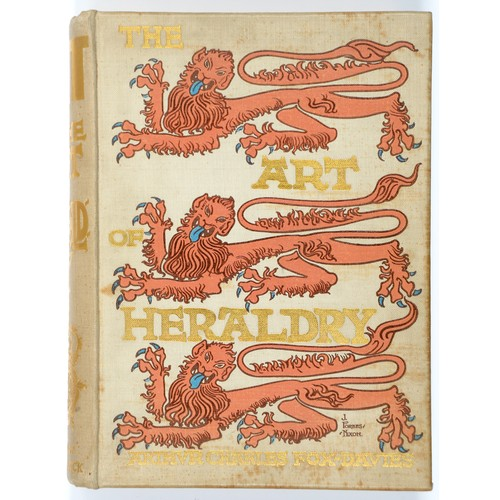 677 - <strong>FOX-DAVIES, ARTHUR CHARLES  THE ART OF HERALDRY AN ENCYCLOPAEDIA OF ARMORY</strong><br />Lon...