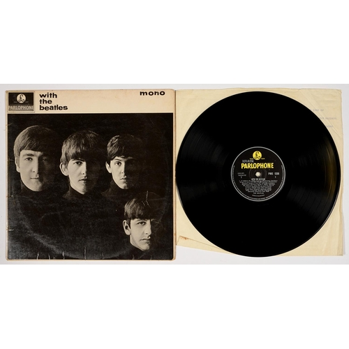 617 - VINTAGE VINYL RECORDS. THE BEATLES, THE FIRST EIGHT ALBUMS, PLEASE…, WITH…, HELP!, RUB...