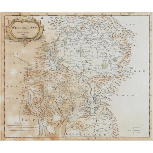 679 - MISCELLANEOUS VICTORIAN AND OTHER PRINTS INCLUDING MAPS...