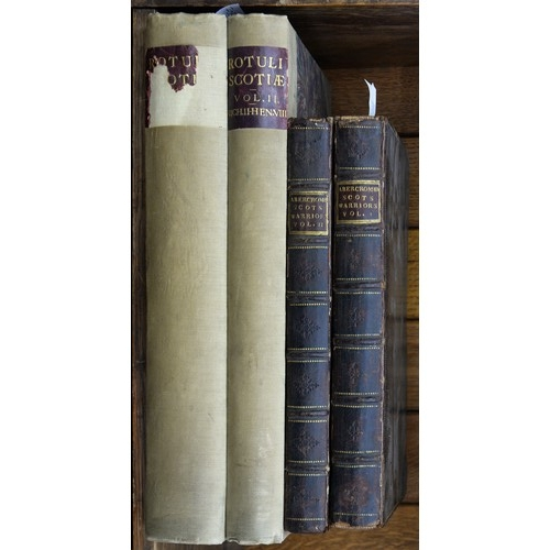 633 - ABERCROMBY, PATRICK - THE MARTIAL ATCHIEVEMENTS OF THE SCOTS NATION BEING AN ACCOUNT OF THE LIVES, C...