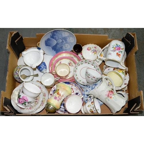 408 - MISCELLANEOUS TEAWARE, ETC...