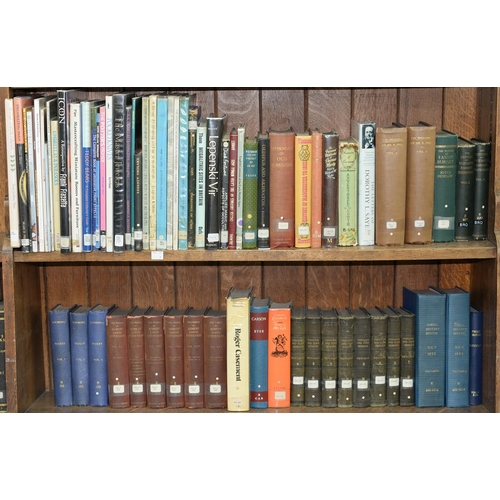 639 - SEVEN SHELVES OF BOOKS, MISCELLANEOUS SHELF STOCK, 19TH C AND LATER, INCLUDING CLARENDON - HISTORY O...