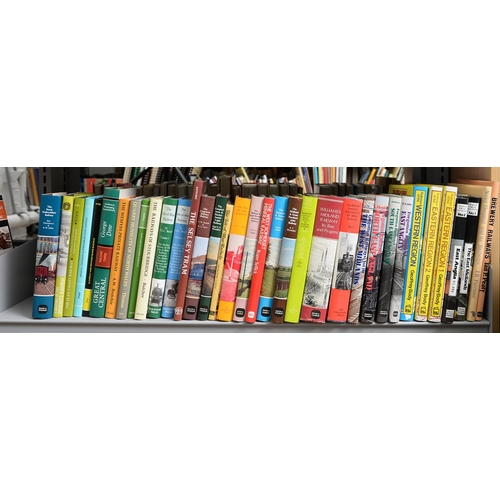 652 - BRITISH RAILWAYS. FIVE SHELVES OF BOOKS, INCLUDING REGIONAL HISTORY OF THE RAILWAYS OF GREAT BRITAIN...