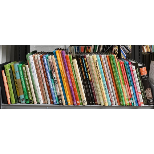 653 - BRITISH RAILWAYS. FIVE SHELVES OF BOOKS AND MAGAZINES, SUBJECTS INCLUDING REGIONAL AND LOCAL RAILWAY...