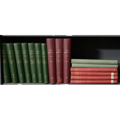 660 - ANNULA RIOGACHTA EIREANN ANNALS OF THE KINGDOM OF IRELAND BY THE FOUR MASTERS, 2ND EDITION, 7 VOLS I...