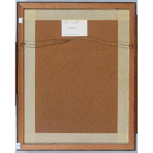 698 - KEN TURNER (1926-) - KINGFISHER, OIL ON HARDBOARD, 59.5 X 45.5CM...