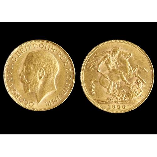 54 - GOLD COIN. SOVEREIGN 1926SA...