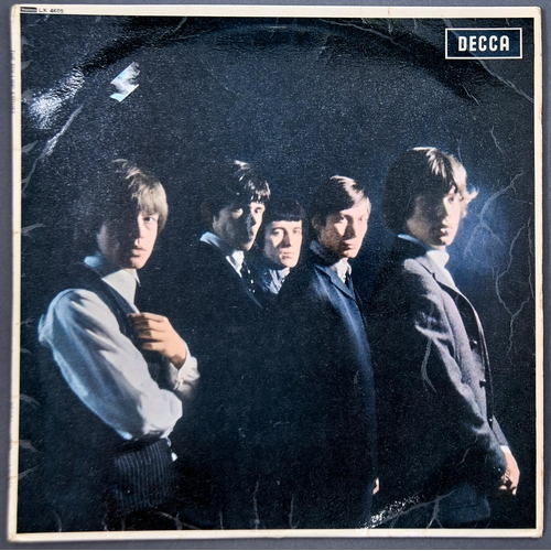 1196 - Vintage vinyl record. The Rolling Stones, mono, red, LK4605
