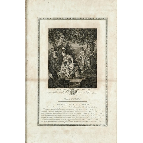 1392 - Various engravers after Old Master painters - Engravingsfrom the Gallery of the Duke of Orleans, tw...