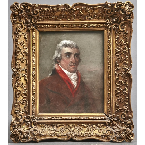 1112 - After to John Raphael Smith (1751-1812) - Portrait of George Botham of Speenhaland, the friend of Ge...