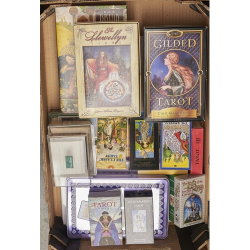 1156 - Tarot Cards. A collection of Tarot and other similar decks of cards and games, including Lord of The...