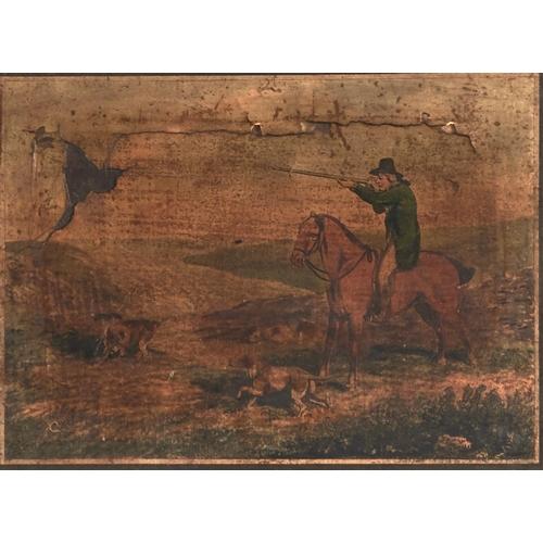 1278 - Samuel Howitt (1756-1822) - Shooting, set of six, hand coloured aquatints, mounted to image, publish...