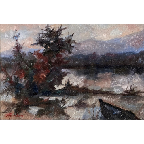 1329 - Otto Valouri (1909 - 1999) - Landscape, signed (in red), signed again, dated 1966 and inscribed vers...