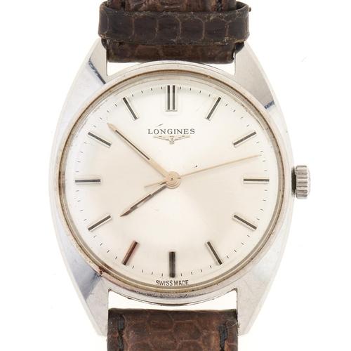 279 - A Longines stainless steel gentleman's wristwatch