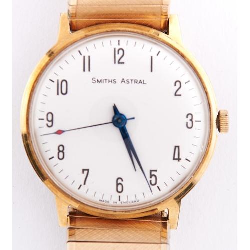 305b - A Smith's gentleman's wristwatch,Astral, c1960, blued steel hands