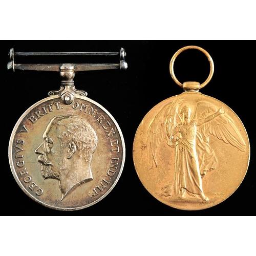 371 - World War I pair, British War Medal and Victory Medal 29834 PTE T Thomas RWFUS