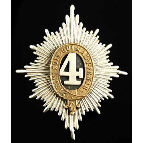 390 - Helmet Plate. 4th Royal Irish Dragoon Guards