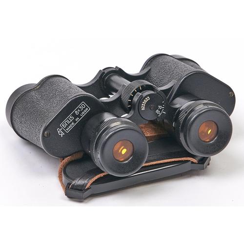 414 - A pair of 6nu5 8x30 binoculars,with original case