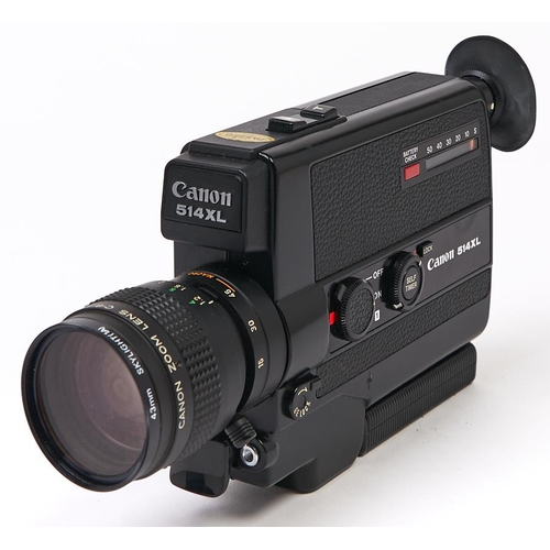 434 - A Canon 514XL C-8mm cine camera, with 9-45mm F1.4 macro lens, with case