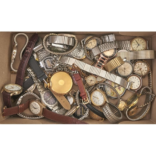 605 - Miscellaneous lady's and gentleman's wristwatches