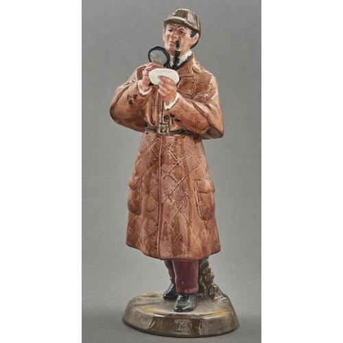 812 - A Royal Doulton bone china figure of The Detective, c1976, 23cm h, printed mark