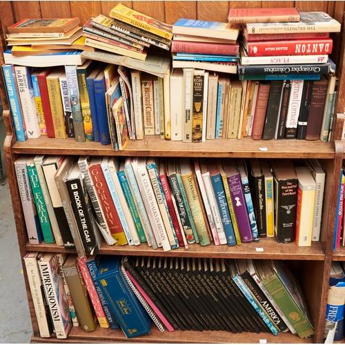 1214 - Eight shelves of miscellaneous books