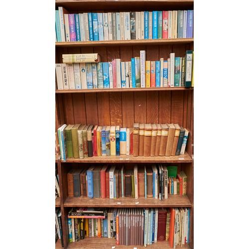 1215 - Ten shelves of books