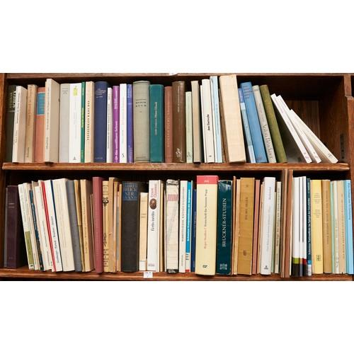 1220 - Eight shelves of miscellaneous books
