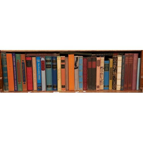 1221 - Folio Society - one shelf of books
