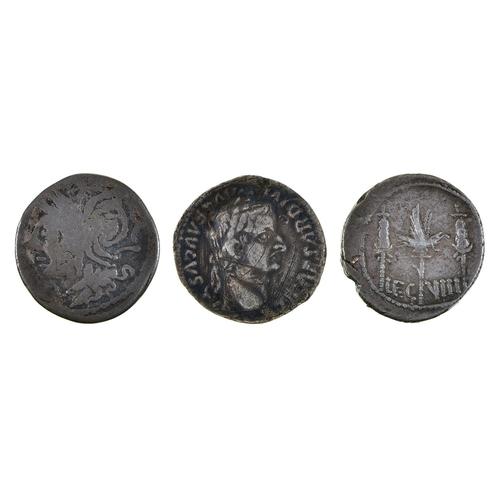 5 - Roman Republican Coinage, Ar Denarius, L. Appuleius Saturnius, fair; Mark Antony, Legionary Ar Denar...